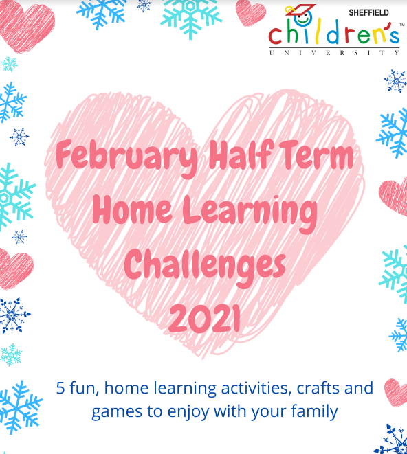 Half Term Home Learning Challenges!