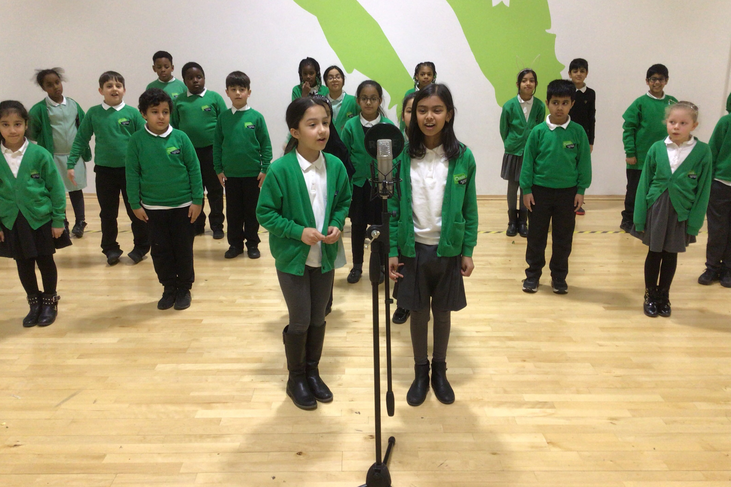 'It's a holly jolly Christmas', Oasis Academy Don Valley has found a great way to mark the festive season
